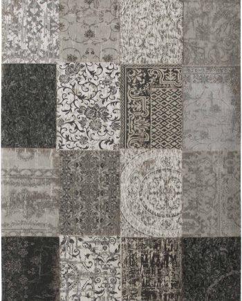 tapijt Louis De Poortere LX8101 Vintage Black White