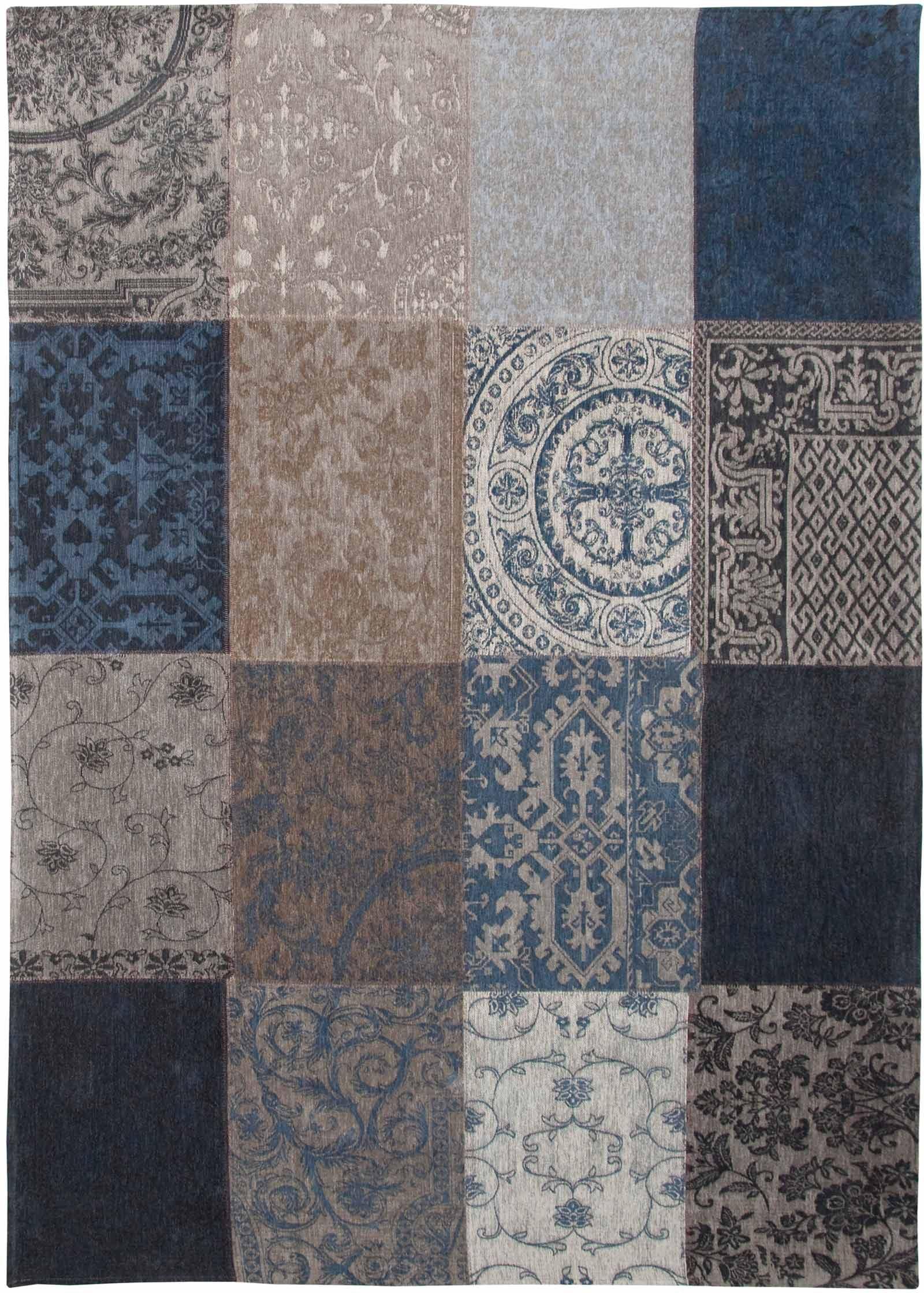tapijt Louis De Poortere LX8108 Vintage Blue Denim