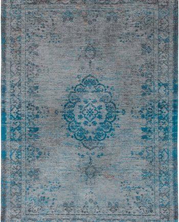 tapijt Louis De Poortere LX8255 Fading World Medaillon Grey Turquoise