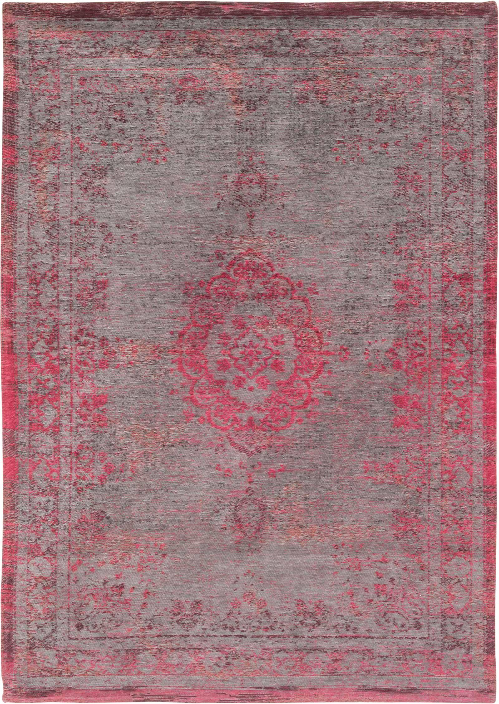 tapijt Louis De Poortere LX8261 Fading World Medaillon Pink Flash