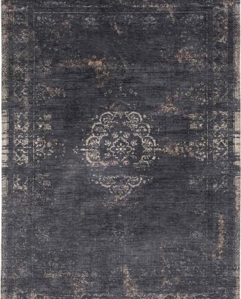 tapijt Louis De Poortere LX8263 Fading World Medaillon Mineral Black