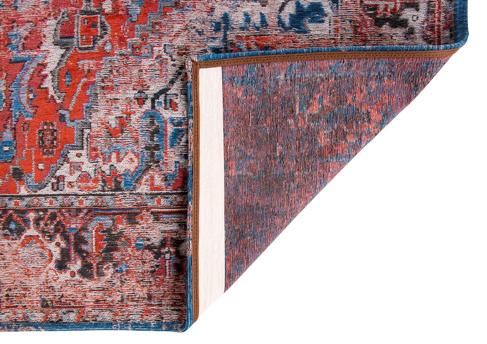 tapijt Louis De Poortere LX8703 Antiquarian Antique Heriz Classic Brick back
