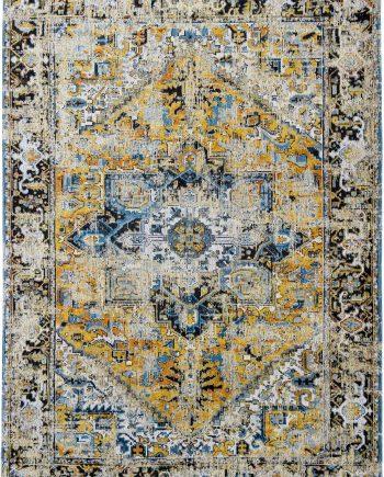 tapijt Louis De Poortere LX8704 Antiquarian Antique Heriz Amir Gold