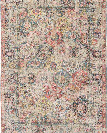 tapijt Louis De Poortere LX8712 Antiquarian Antique Bakthiari Janissary Multi