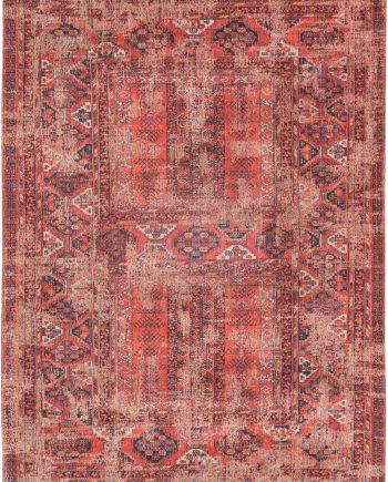 tapijt Louis De Poortere LX8719 Antiquarian Antique Hadschlu 782 Red