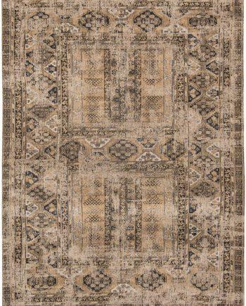 tapijt Louis De Poortere LX8720 Antiquarian Antique Hadschlu Agha Old Gold