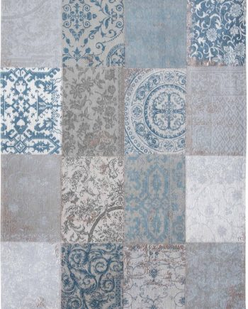 tapijt Louis De Poortere LX8981 Vintage Bruges Blue