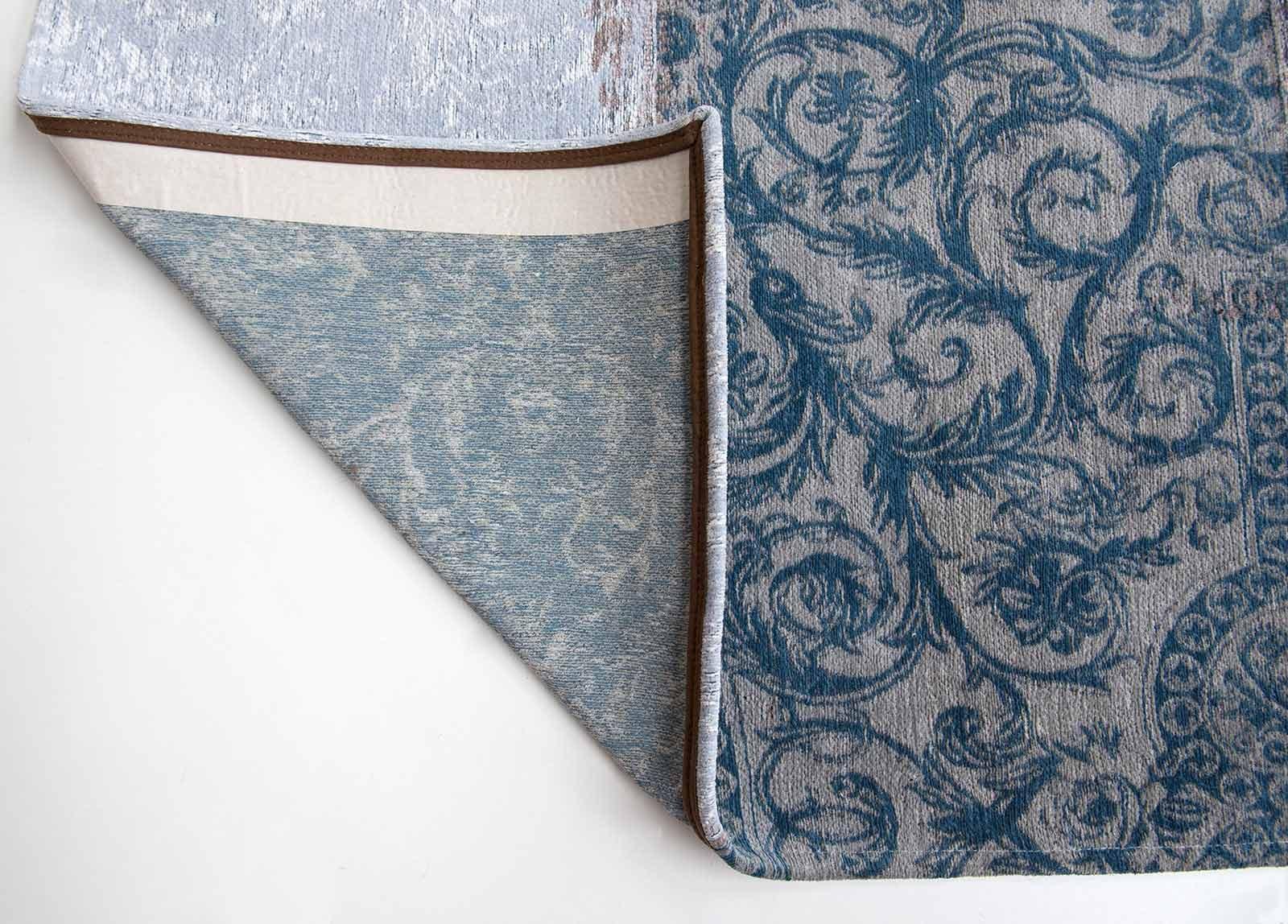tapijt Louis De Poortere LX8981 Vintage Bruges Blue corner