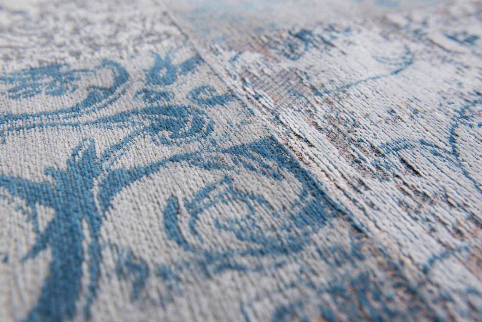 tapijt Louis De Poortere LX8981 Vintage Bruges Blue zoom
