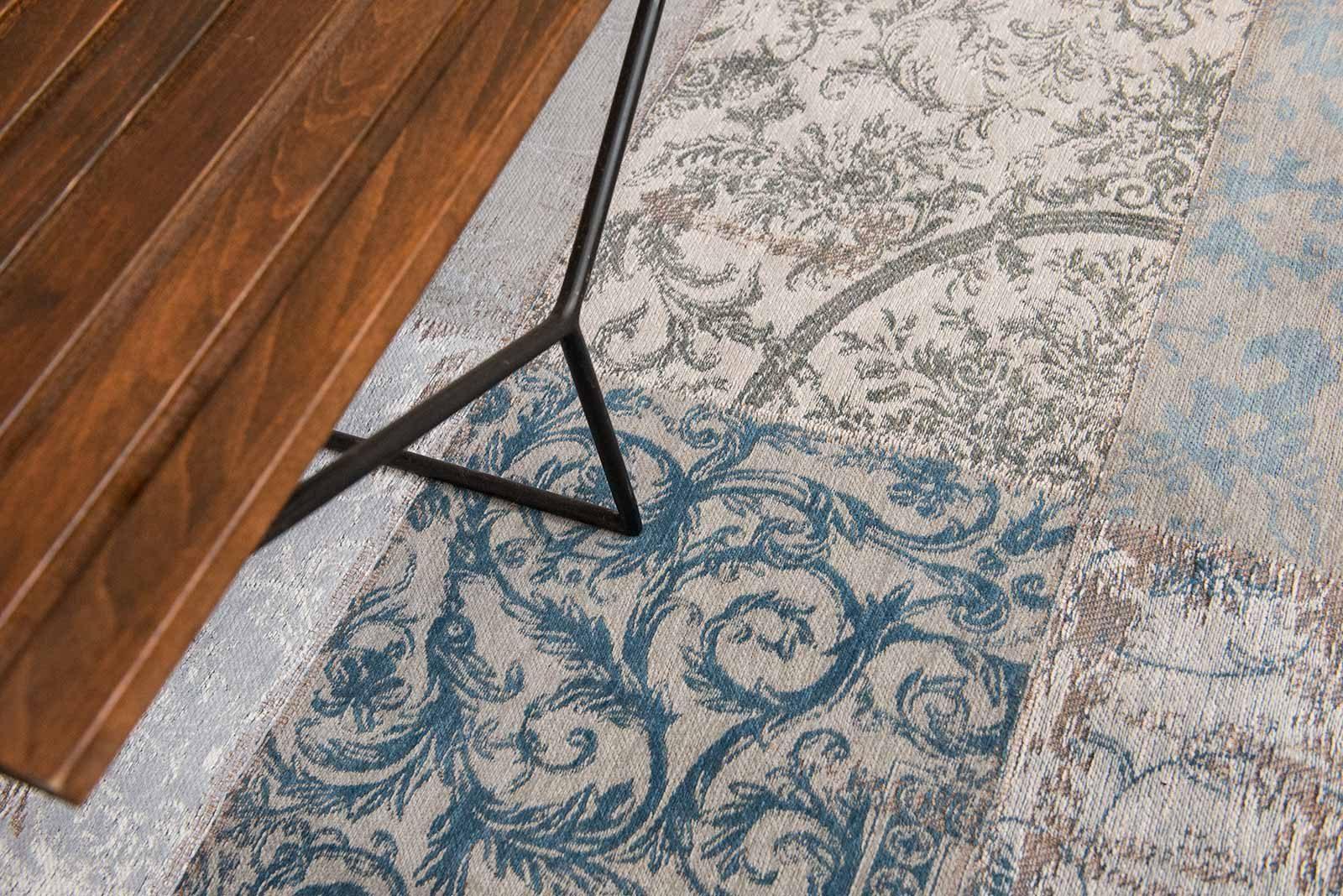 tapijt Louis De Poortere LX8981 Vintage Bruges Blue zoom 3