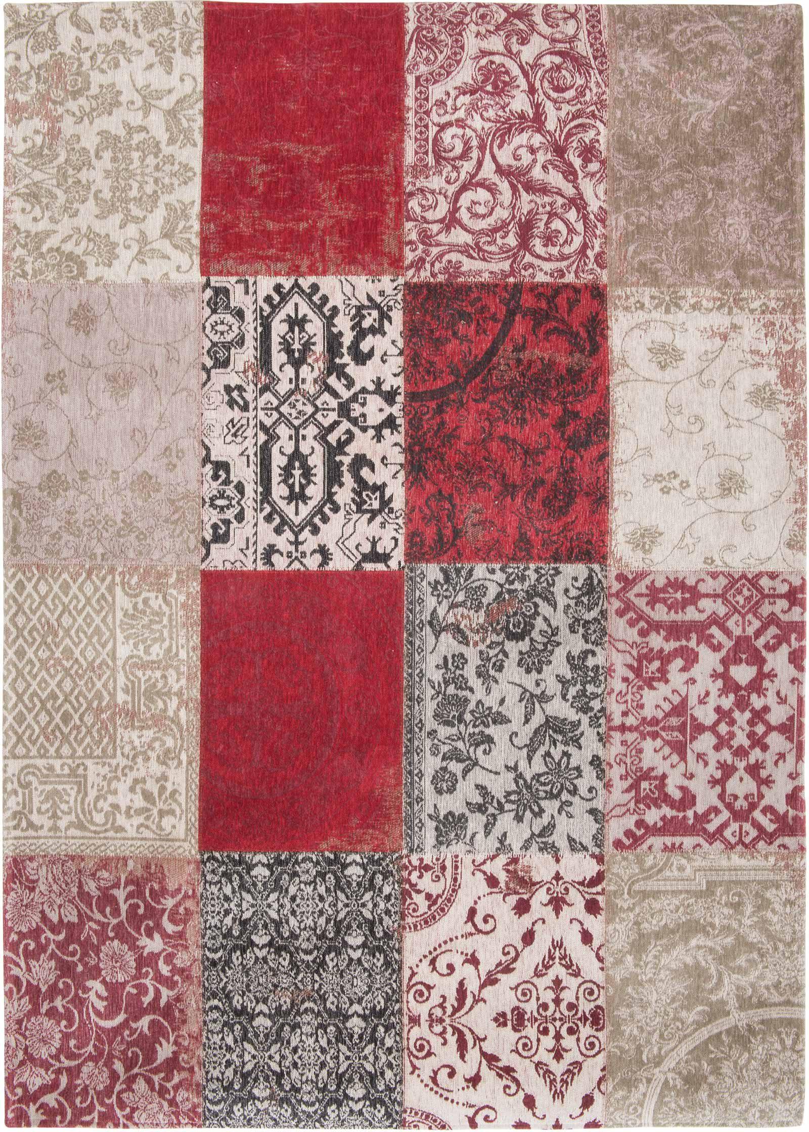 tapijt Louis De Poortere LX8985 Vintage Antwerp Red