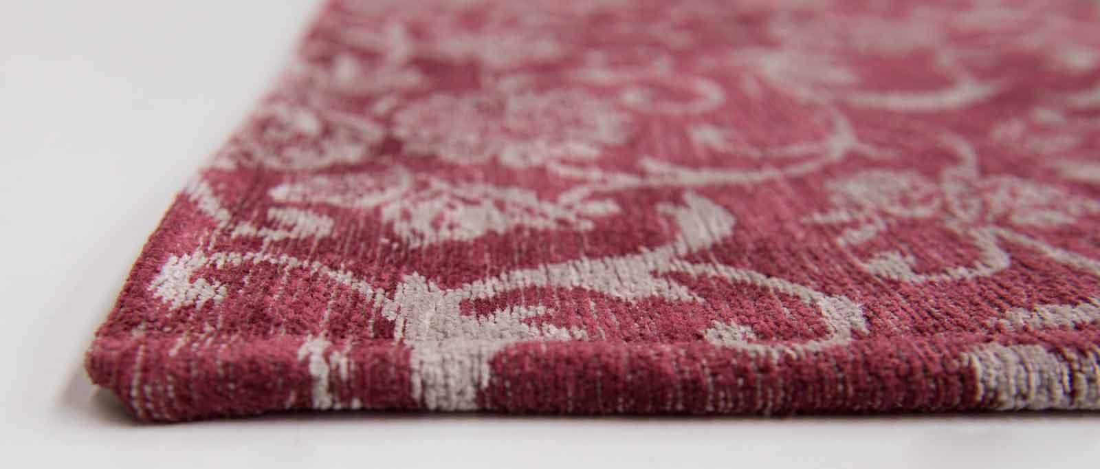 tapijt Louis De Poortere LX8985 Vintage Antwerp Red side