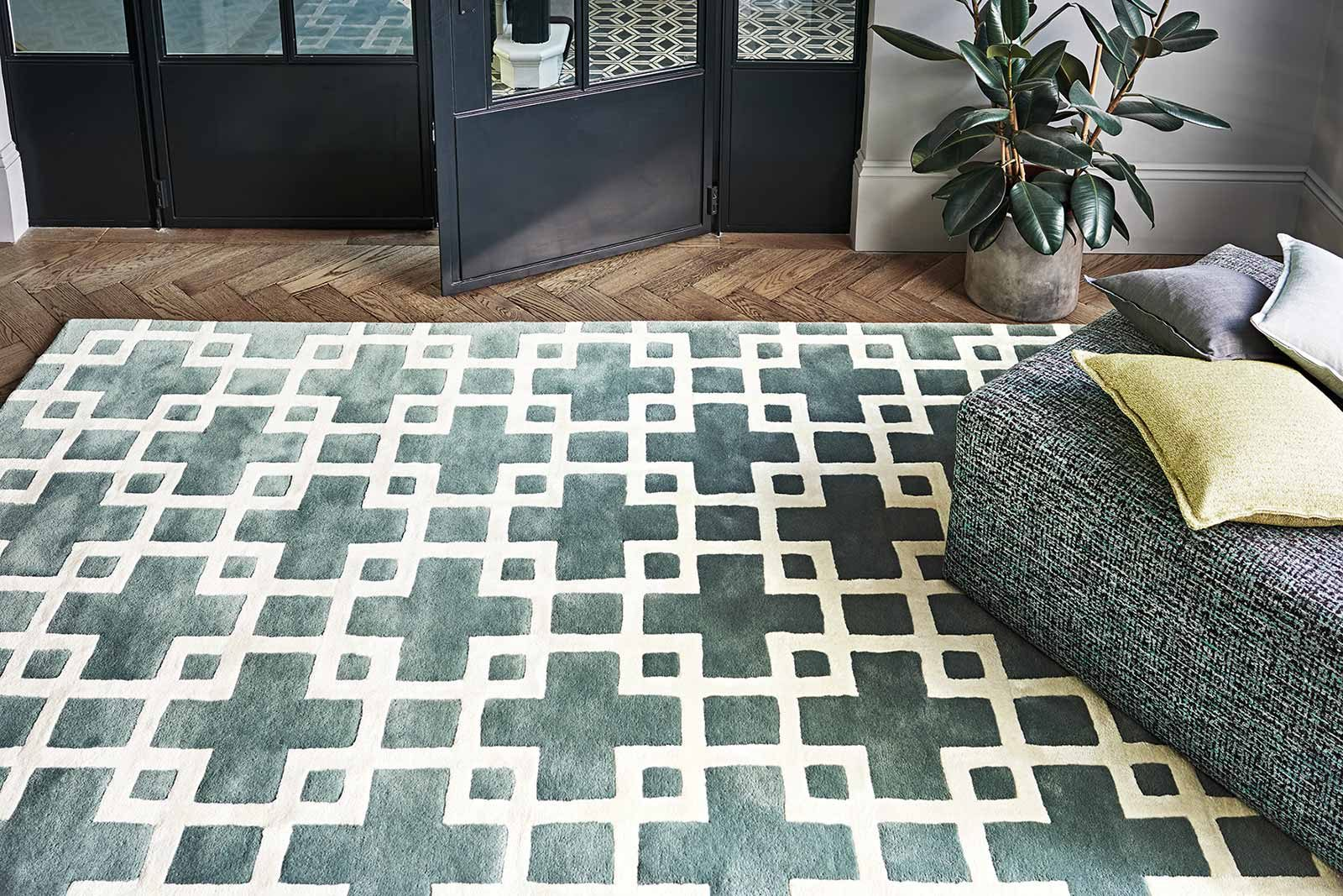 Louis De Poortere tapijt Romo LX 2011 Cubis Agate interior