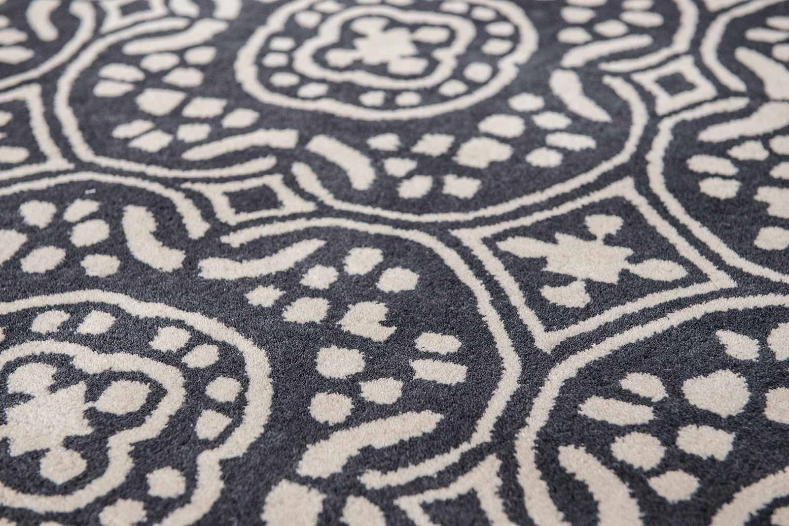 Louis De Poortere tapijt Romo LX 2014 Chella Ebony zoom 4