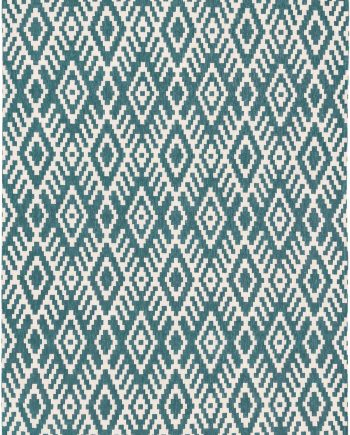 Louis De Poortere tapijt Romo LX 8744 Nahli Kingfisher