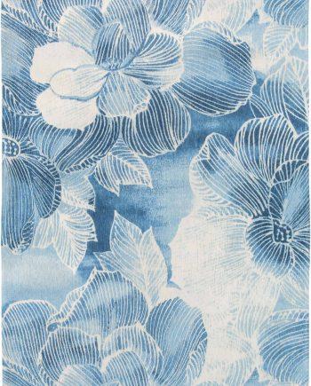 Louis De Poortere tapijt Villa Nova LX 8756 Akina Indigo