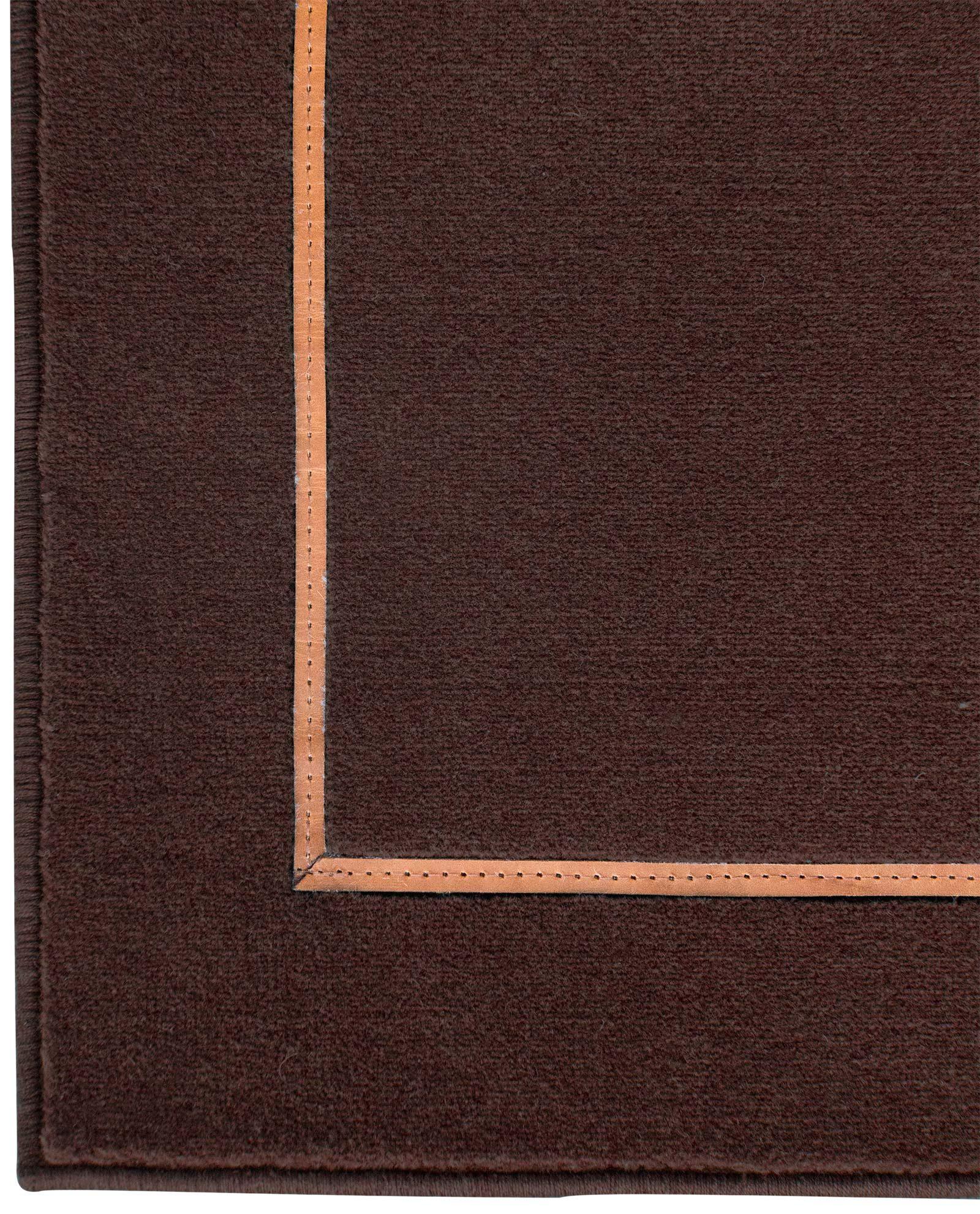 Louis De Poortere Wilton Tapijten W Leather Richelieu Velours RV3 9802