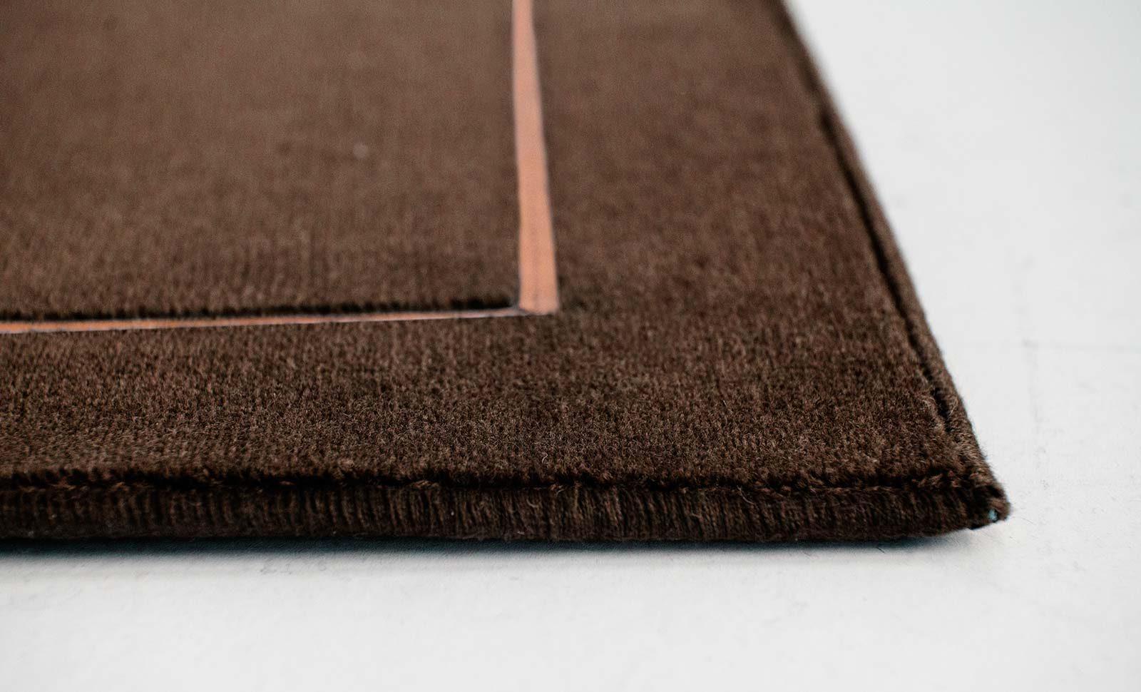 Louis De Poortere Wilton Tapijten W Leather Richelieu Velours RV3 9802 side