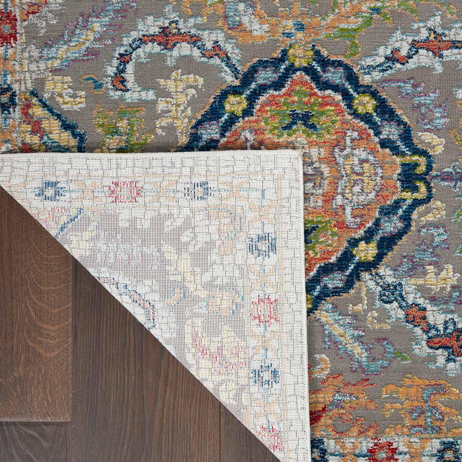 Andessi tapijt Ankara Global ANR12 GRYMT GREY MULTI 5x8 099446498205 CRB C
