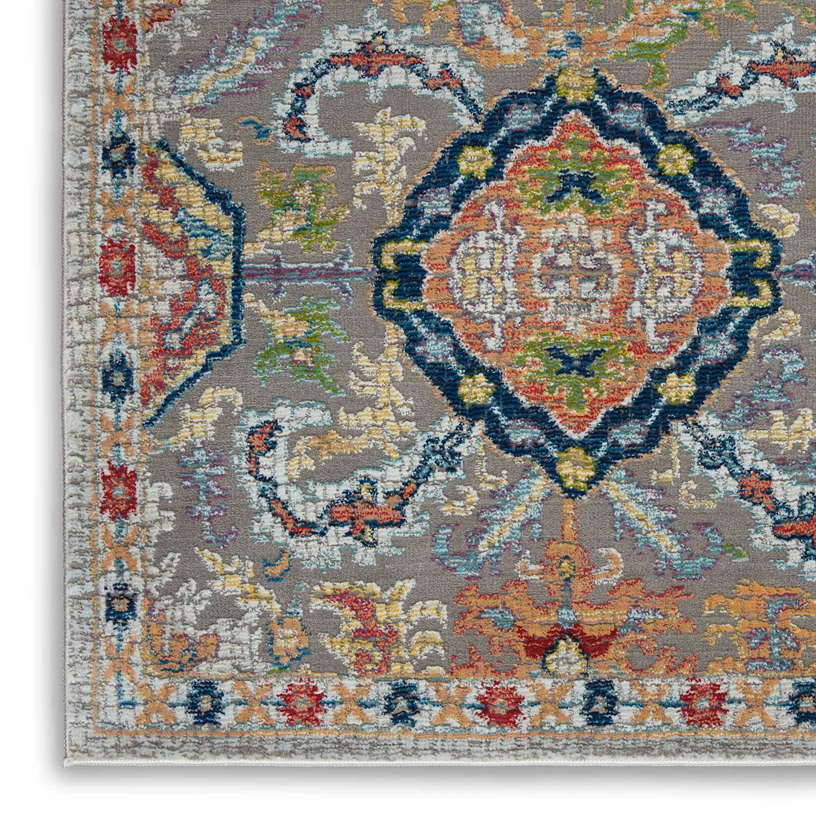 Andessi tapijt Ankara Global ANR12 GRYMT GREY MULTI 5x8 099446498205 CRW C