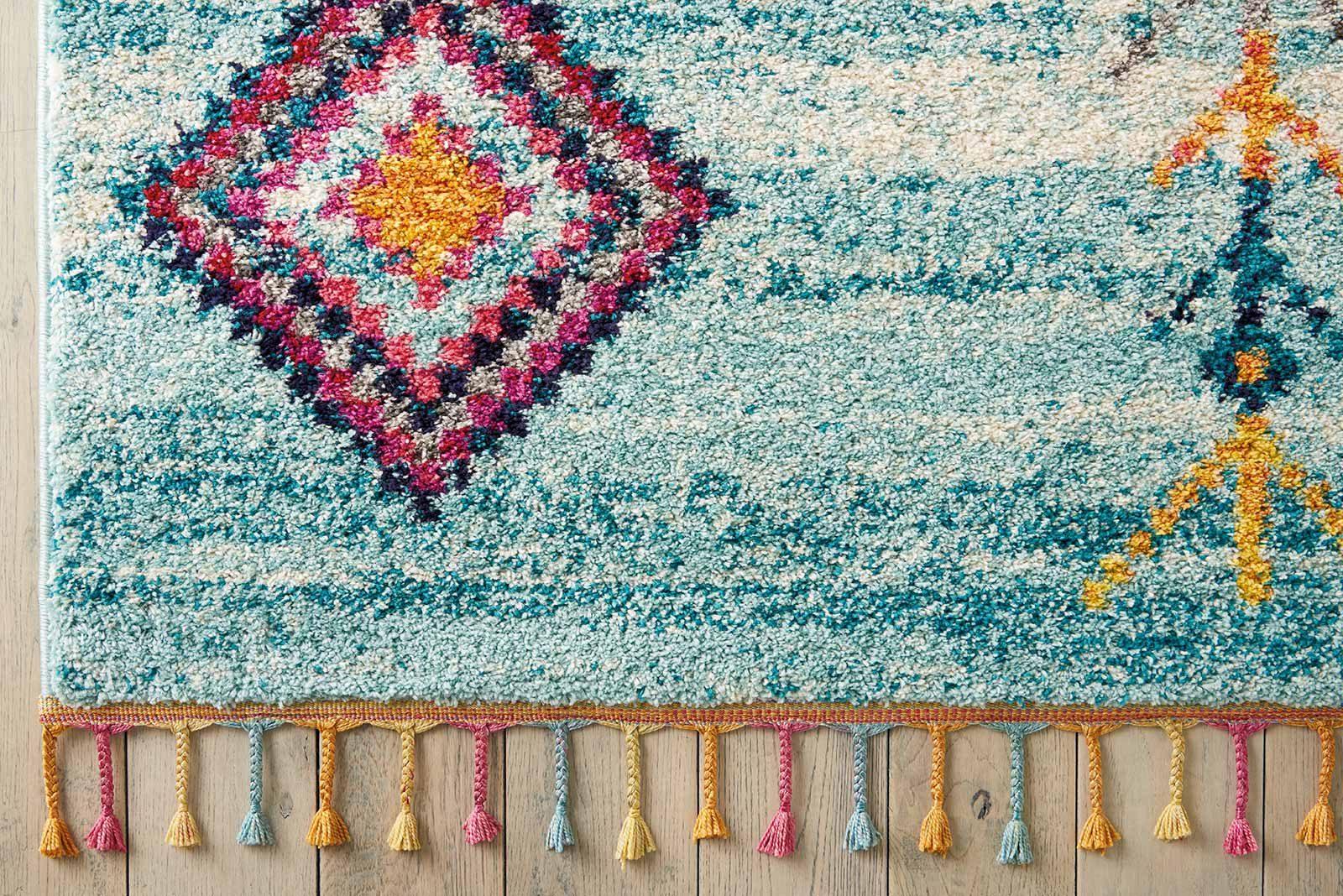 Andessi tapijt Nomad NMD04 AQUA 5x8 099446461490 CR01
