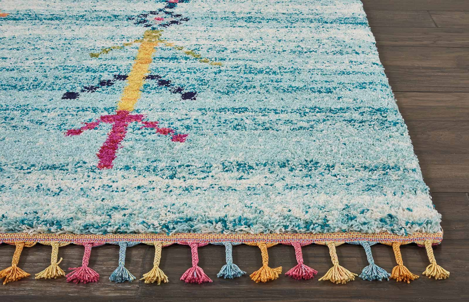 Andessi tapijt Nomad NMD04 AQUA 8x11 099446461506 DT01