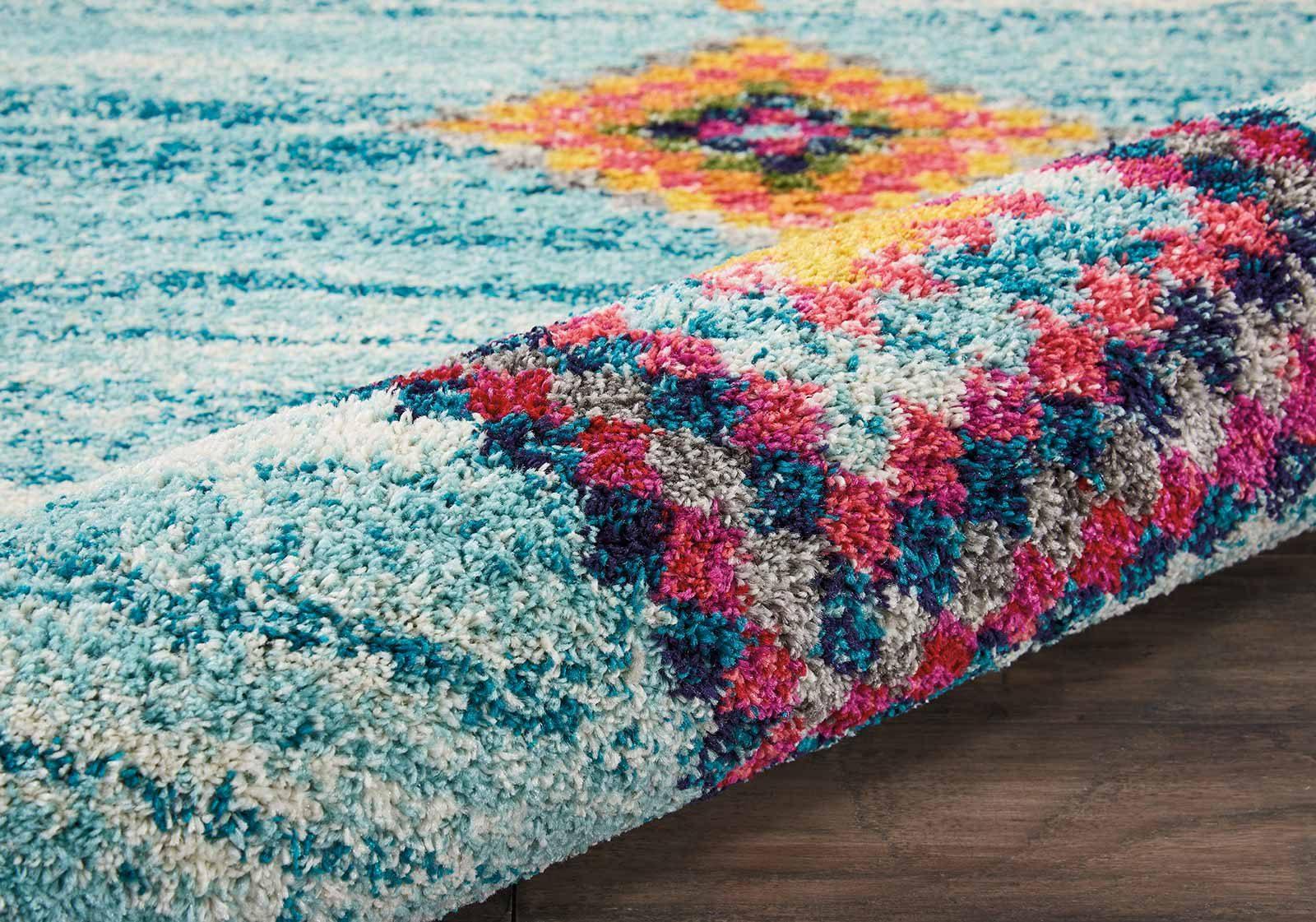 Andessi tapijt Nomad NMD04 AQUA 8x11 099446461506 TX01