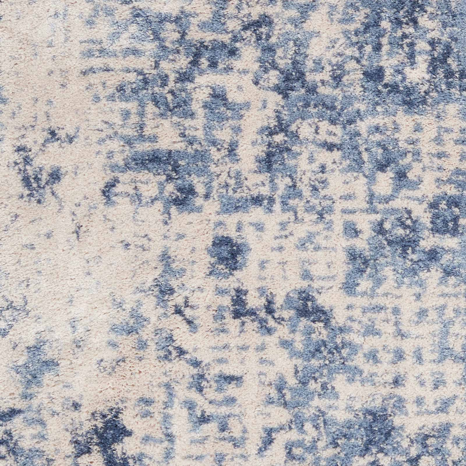 Andessi tapijt Silky Textures SLY01 IVORY BLUE 4x6 099446709677 swatch C