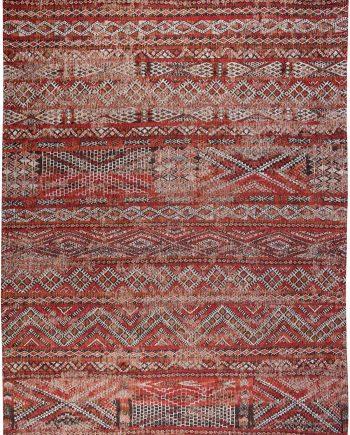 Louis De Poortere tapijt LX 9115 Antiquarian Kilim Fez Red