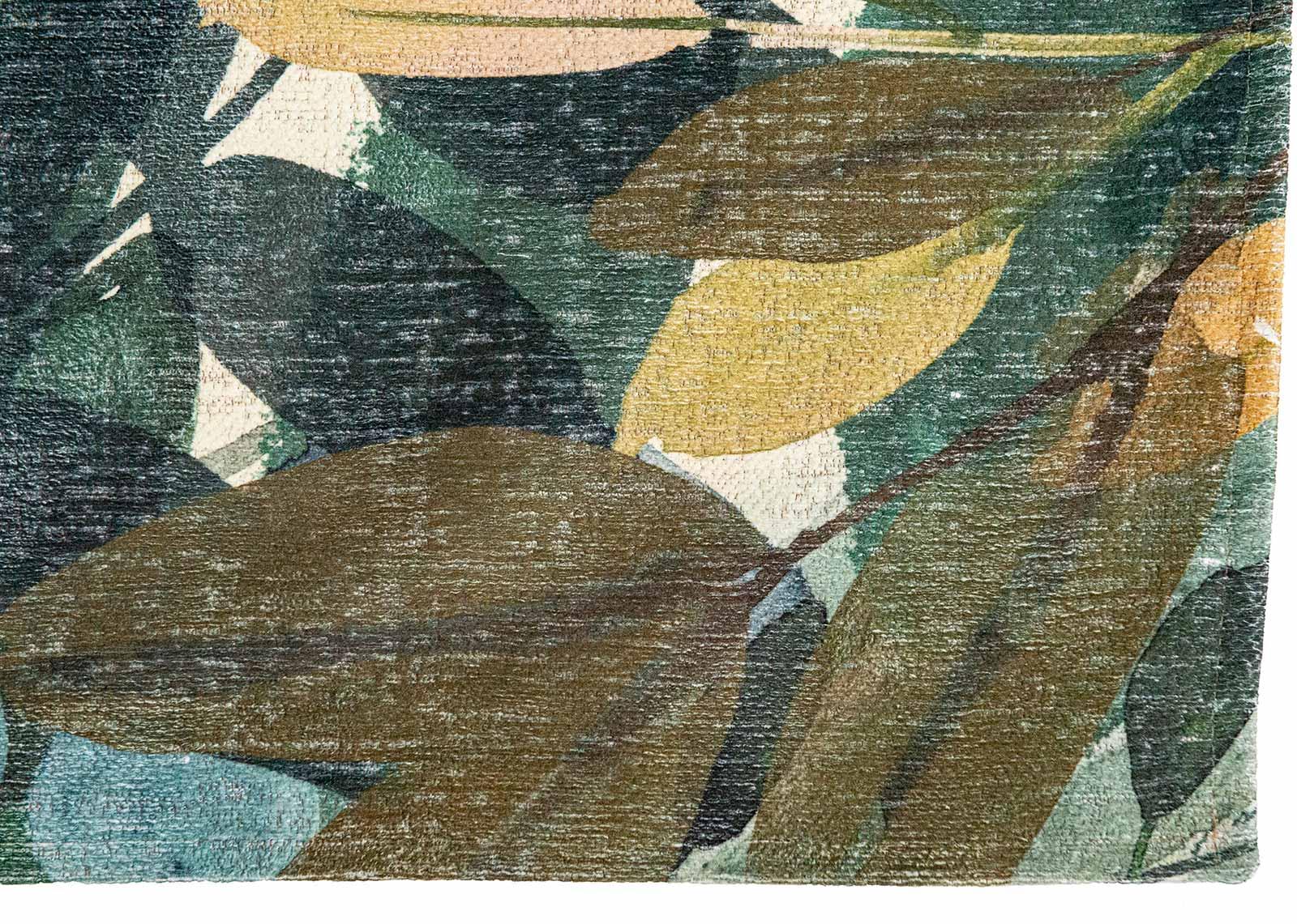Louis De Poortere tapijt Fischbacher 8446 Estival Caliente corner