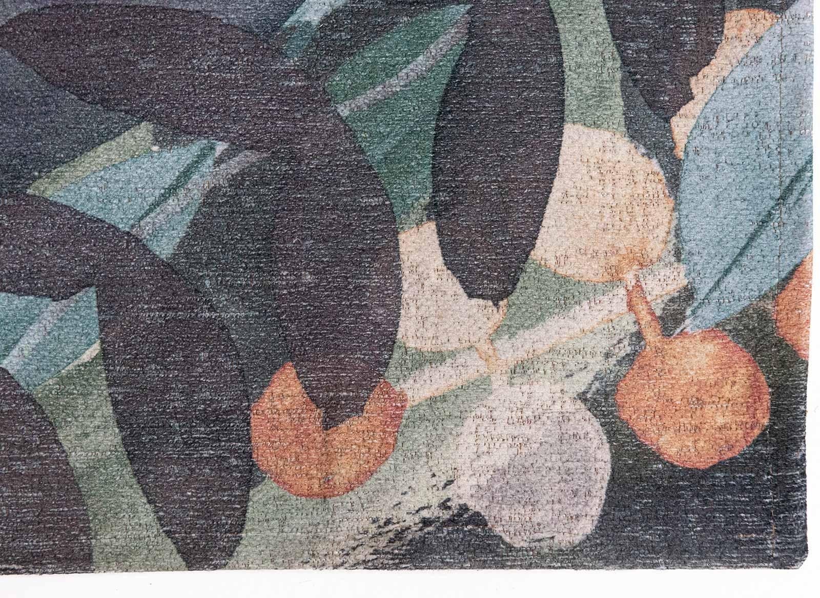 Louis De Poortere tapijt Fischbacher 8447 Estival Fresco corner
