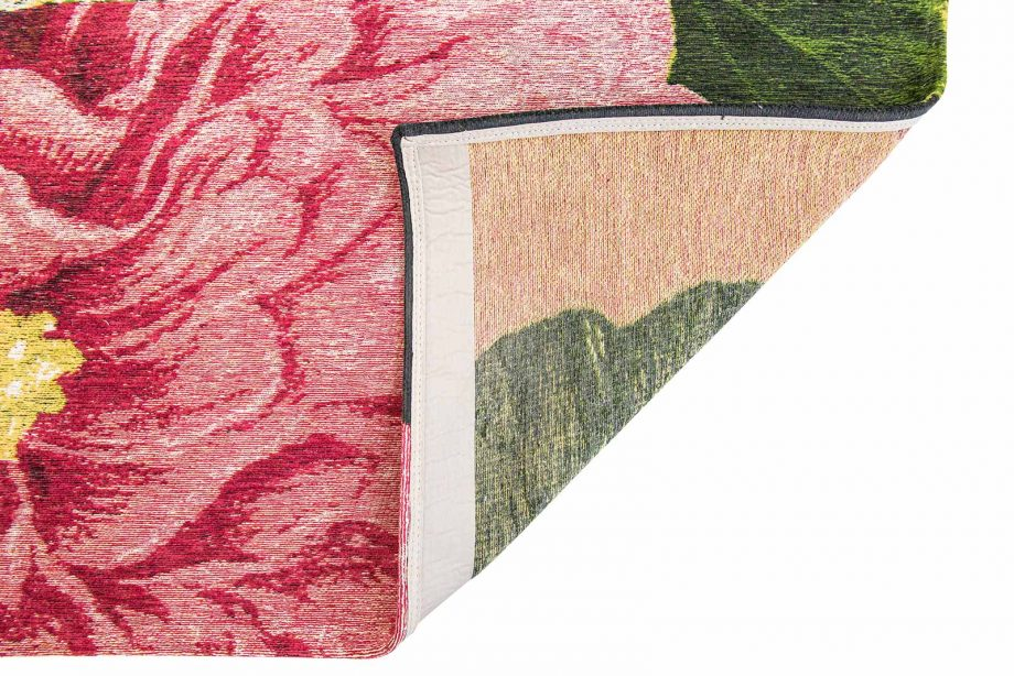 Louis De Poortere tapijt Fischbacher 9051 Interfloral Multi back