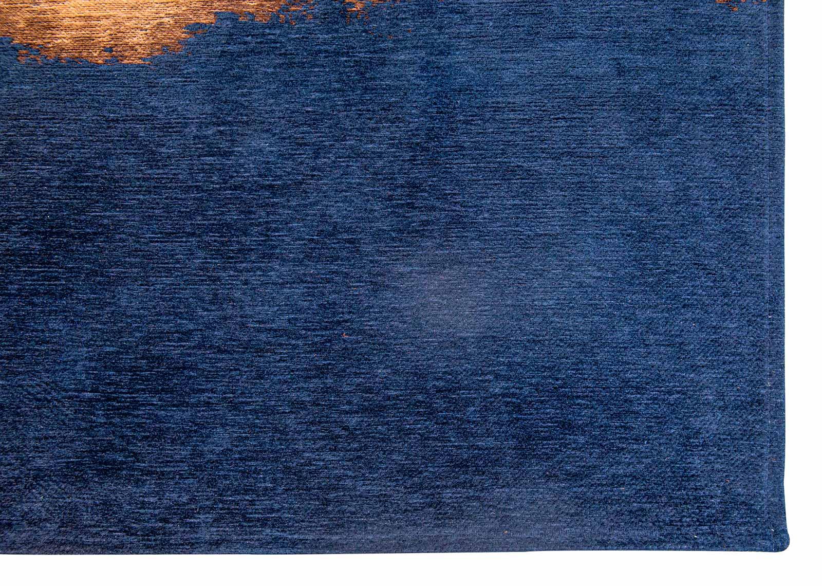 Louis De Poortere tapijt Fischbacher 9056 Linares Navy corner