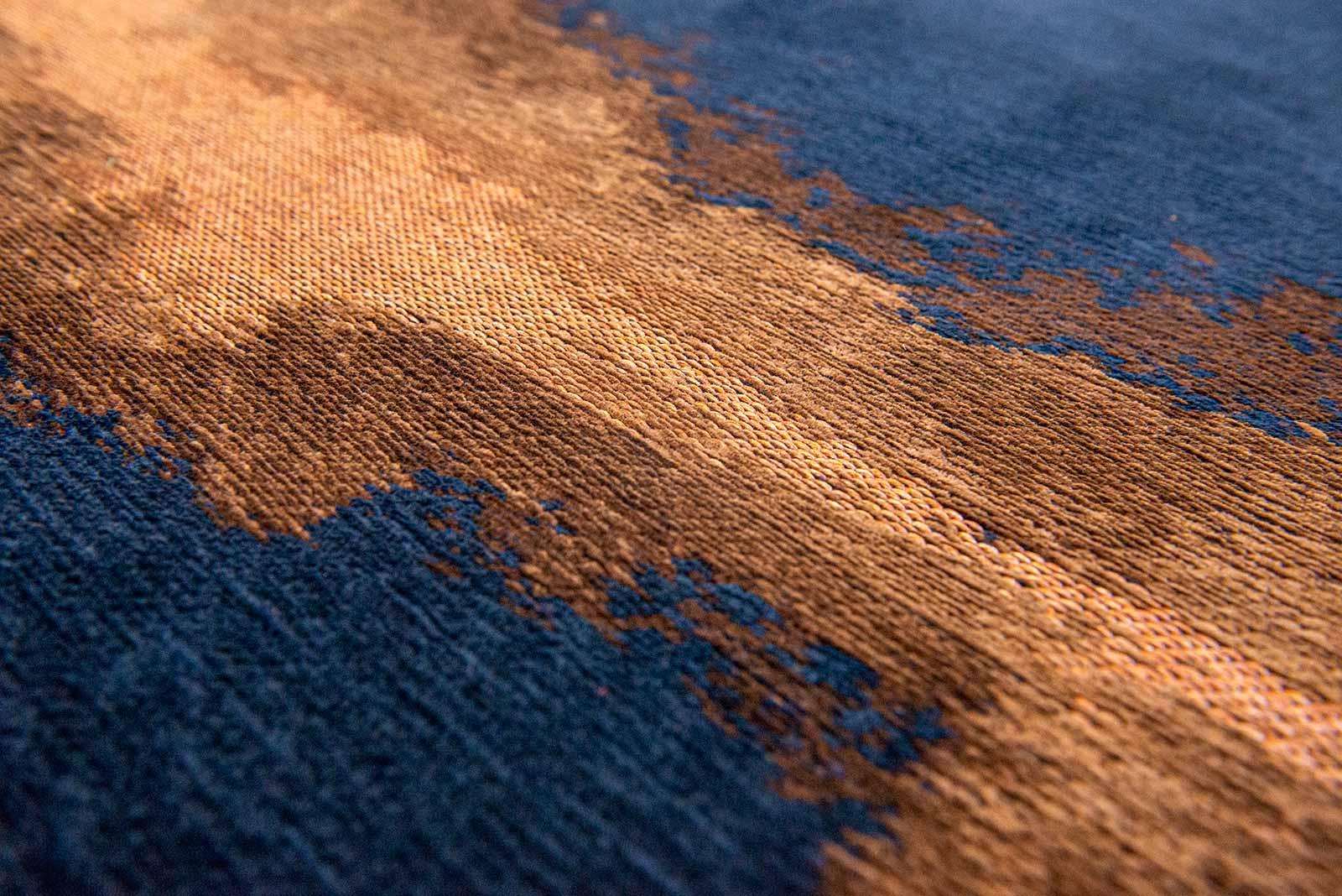 Louis De Poortere tapijt Fischbacher 9056 Linares Navy zoom 1