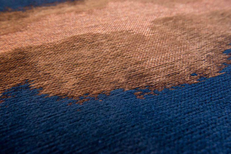 Louis De Poortere tapijt Fischbacher 9056 Linares Navy zoom 2
