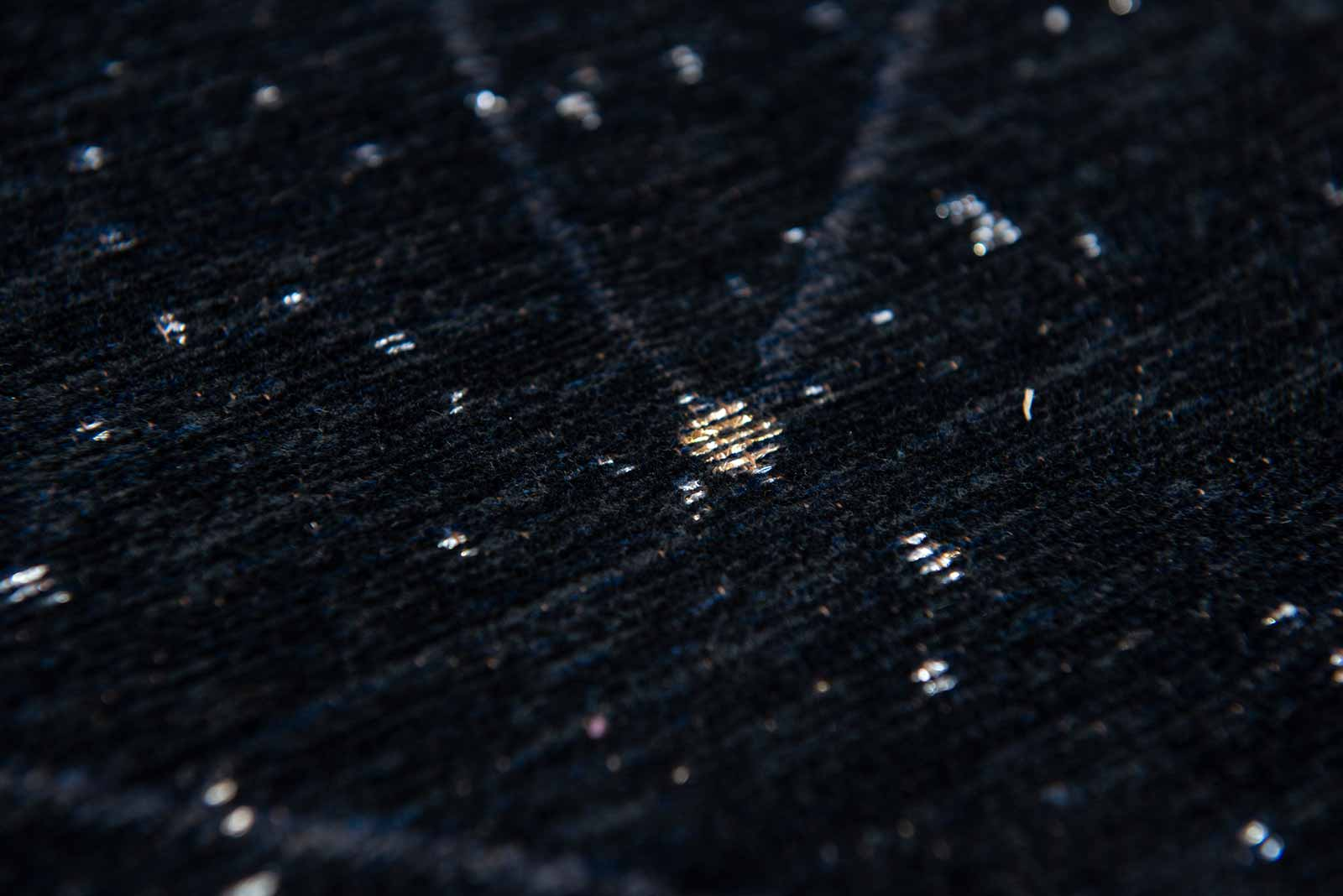 Louis De Poortere tapijt Fischbacher 9059 Celestial Night Sky zoom 1